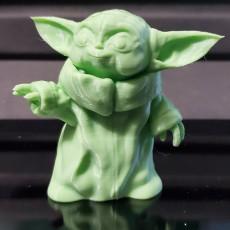 Baby Yoda Smiling