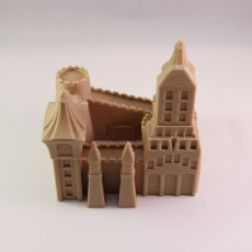 Picture of print of Sand Castle