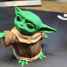 Picture of print of The Child (Baby Yoda) Multimaterial