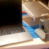 Macbook and Laptop Multifuntion Base/Stand - No supports! Mouse & USB device storage! image