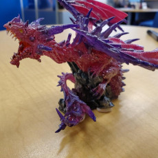 Picture of print of CRYSTAL DRAGON