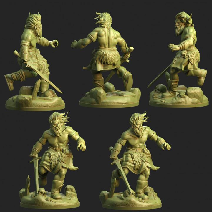 Running Barbarian