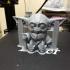 Baby Yoda print image