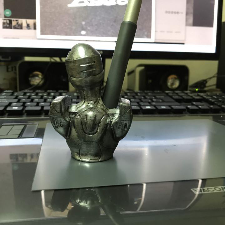 Wacom Pen Holder - Female Cyborg