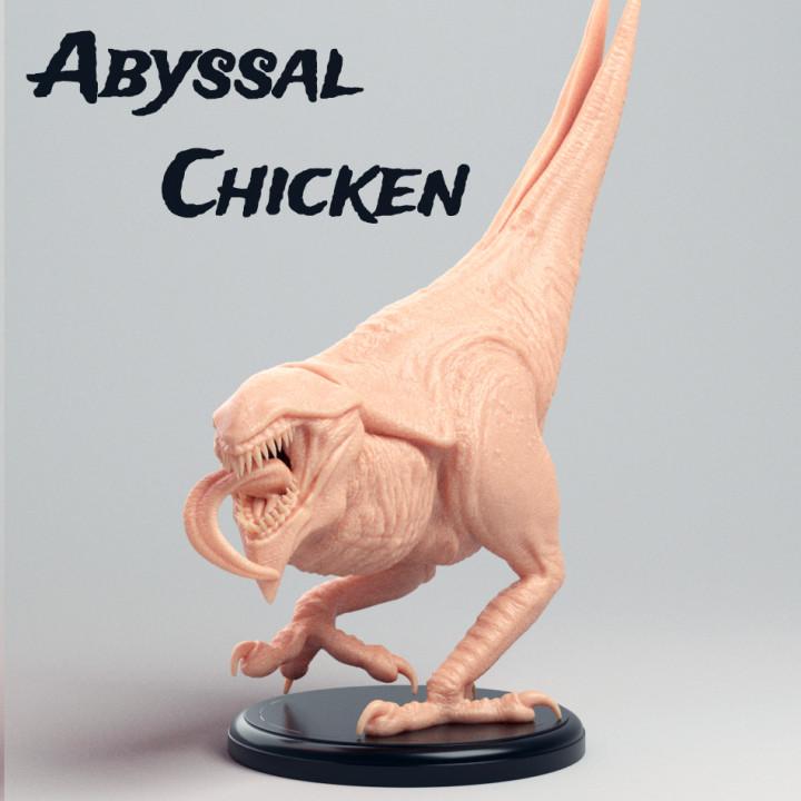Abyssal Chicken - D&D