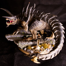Picture of print of Tarrasque