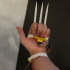 Retractable wolverine claws #TinkerMechanical image