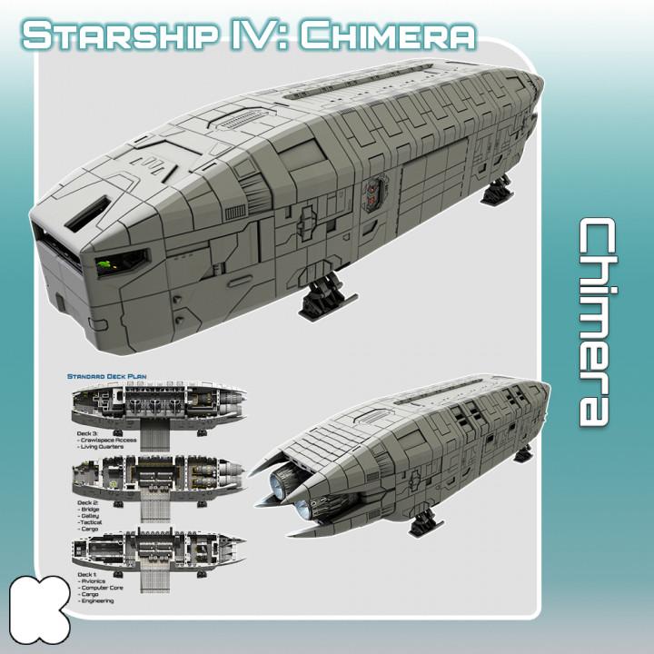 Starship Chimera STL Files's Cover