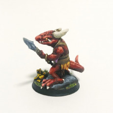 Picture of print of Kobold Warrior