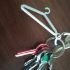 hanger keychain / portachiavi gruccia abiti image