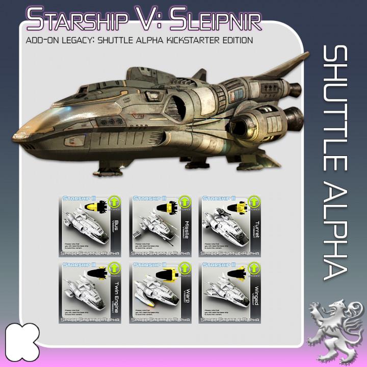 Space Shuttle Alpha Kickstarter Edition's Cover