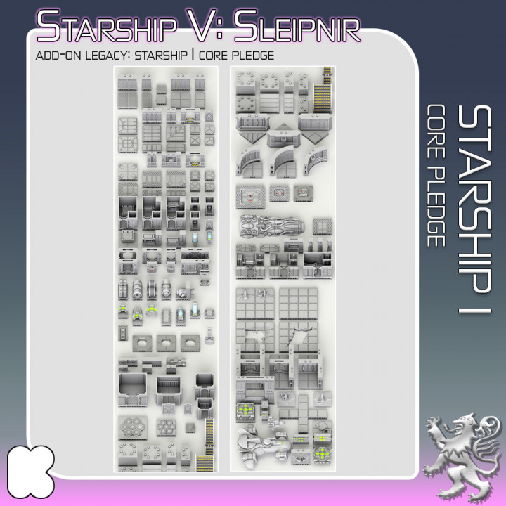Starship I Core Pledge's Cover