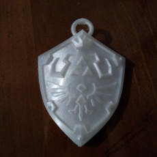 Picture of print of Links Shield