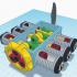 Horizontally Opposed 6 Cylinder Aircraft Engine image