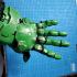 DOOM Slayer Glove Gauntlet image
