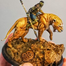 Picture of print of Mounted Orc