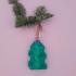 Gyroid Christmas decoration, keychain image