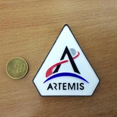 Picture of print of ARTEMIS program logo