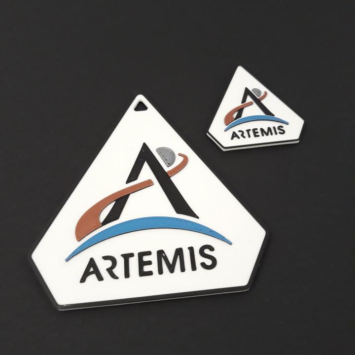 ARTEMIS program logo