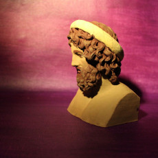 Picture of print of Bust of Asclepius