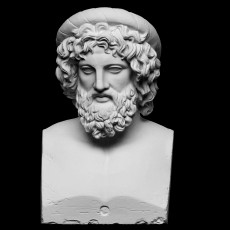Bust of Asclepius