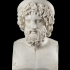 Bust of Asclepius image