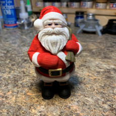 Picture of print of Santa Claus supportless