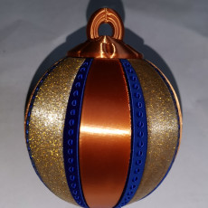 Picture of print of Christmas Tree Bauble (with secret compartment)