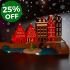 Christmas Village Lamp image