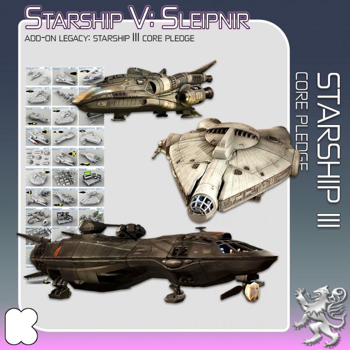 Starship III Core Pledge's Cover