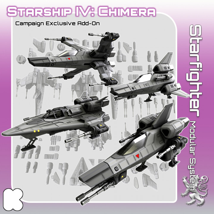 Starfighter Modular System's Cover