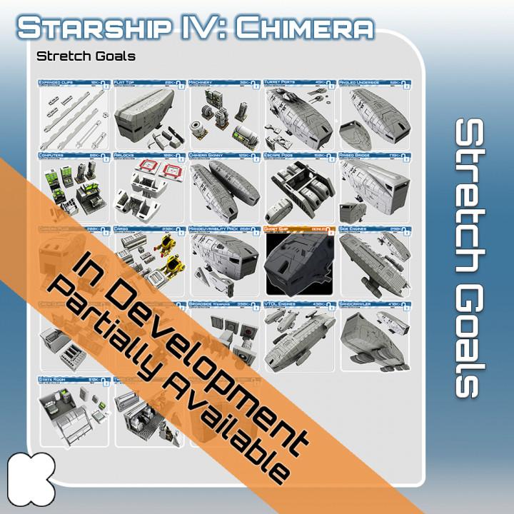 Starship Chimera Stretch Goal STL Files's Cover