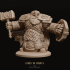 3 x Dwarven Infantry Miniatures Pack 01 image