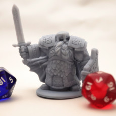 Picture of print of 3 x Dwarven Infantry Miniatures Pack 02