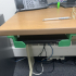 Under-Desk Laptop Storage/Docking Brackets image