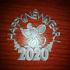 2020 mouse Christmas decorations image