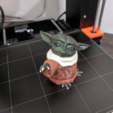The Child (Baby Yoda) Multimaterial STLs