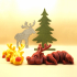 Lazy Reindeer image