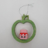Christmas tree ornament_shopkins,pencil toppers or ooshies decoration image