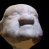 Puppet theatre: old man Head (scanned using photogrammetry) image