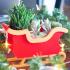 Christmas Sleigh Decor/Planter image