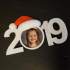 2019 Christmas Picture Ornament image