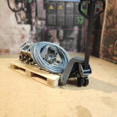 Picture of print of Pallet truck