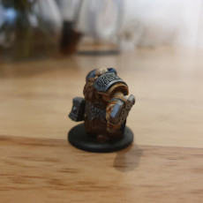 Picture of print of Keyed Dwarven Infantry Variation Miniatures