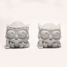 Picture of print of Winter Owl