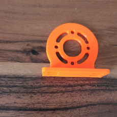 Picture of print of 775 DC motor 90 degree mount bracket