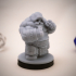 Dwarf Brawler Variant Miniature image