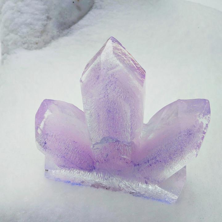 Amethyst Ice Lantern Mold