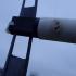 HAM Radio Ladder Line Antenna Support. image