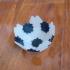 Soccer polyhedron jigsaw image